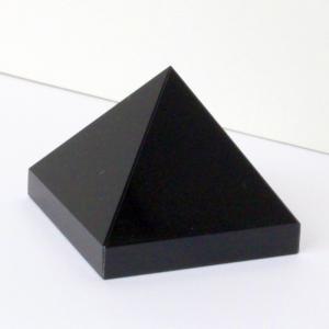 オニキス ピラミッド 原石 鉱物 黒縞瑪瑙 Pyramid ...