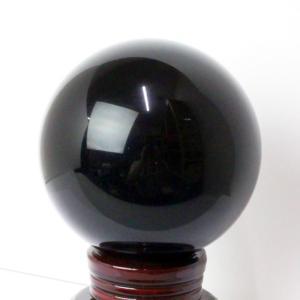オニキス 丸玉 石 水晶玉 黒縞瑪瑙 Cluster 天然石【94mm】