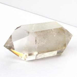 スモーキークォーツ ダブルポイント クラスター ダブルターミネイティッド 煙水晶 原石 パワーストーン