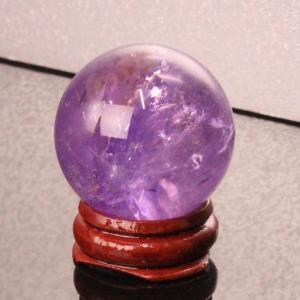 アメジスト 丸玉 原石 Amethyst  紫水晶  球体 一点物【35mm】