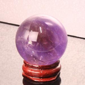 アメトリン 丸玉 原石 Amethyst  紫水晶  球体 一点物【38mm】