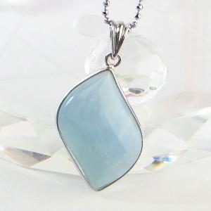 アクアマリン ペンダント ネックレス aquamarine ...
