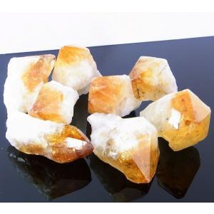 シトリン ポイント 原石 citrine 黄水晶 Point パワーストーン