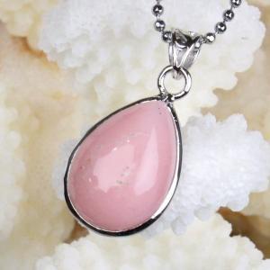 ピンクオパール ペンダント ネックレス pink 天然石 P...
