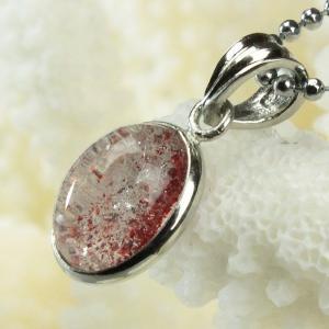 ストロベリークォーツ ペンダント ネックレス quartz 苺水晶 Pendant パワーストーン