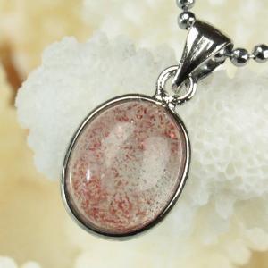 ストロベリークォーツ ペンダント ネックレス strawberry 苺水晶 Pendant 天然石