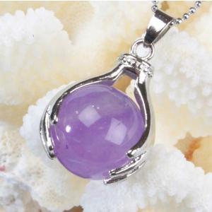アメジスト ペンダント ネックレス amethyst 紫水晶...