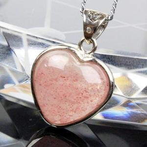 ストロベリークォーツ ペンダント ネックレス strawberry 苺水晶 Pendant パワーストーン
