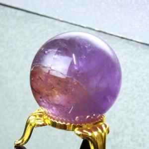 アメトリン 丸玉 水晶玉 ametrine 黄紫水晶 Ball 一点物【33mm】
