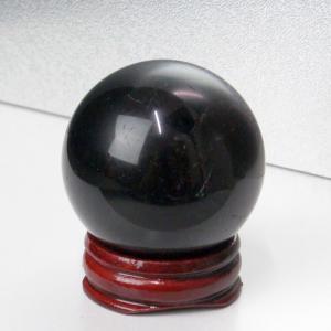 モリオン 丸玉 原石 morion 黒水晶 Ball 一点物【44mm】