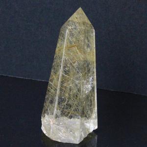 ルチルクォーツ ポイント 原石 quartz クリスタル P...