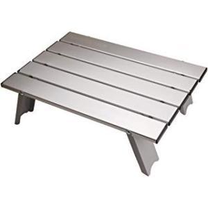 アウトドアテーブル(アルミロールテーブル / 折りたたみ式 )  ?耐荷重: 30kg / 本体重量...