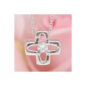 ダイヤモンドプチネックレス ホワイトゴールド lumiere-j