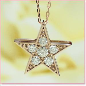 ■超特価品■ダイヤモンドプチネックレス K18ピンクゴールド lumiere-j