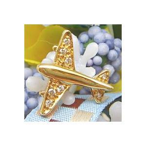ダイヤモンドピンブローチ K18イエローゴールド|lumiere-j