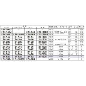 【未来工業】 ミライ 2号コネクタ 適合管:VE16 適合ノックアウト径:Φ22・16/Φ27・22(25)兼用 ネジの呼び:G1/2 色:濃紺 2K-16SDB lumiere10 03