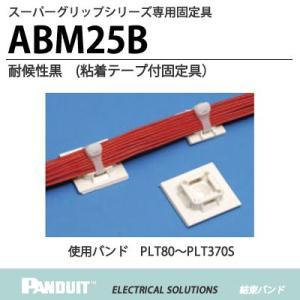 <BR>【PANDUIT】<BR>スーパーグリップシリーズ<BR>専用固定具<BR>ABM25B<BR>耐候性黒<BR>1袋100個入り lumiere10
