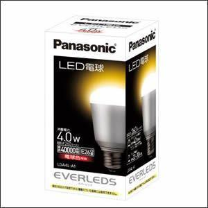 【Panasonic電工】LED電球 LDA4L-A1|lumiere10