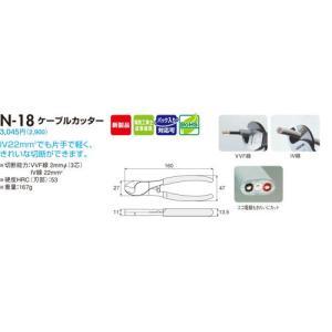 【HOZAN】 ケーブルカッター N-18|lumiere10|02