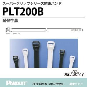 【PANDUIT】  スーパーグリップシリーズ    結束バンド   PLT200B   耐候性黒    1袋100本入り lumiere10