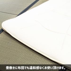 ベッドパッド:ルナエアー・シーパッド 綿スムースタイプ シングルサイズ(アイボリー) lunaair 06
