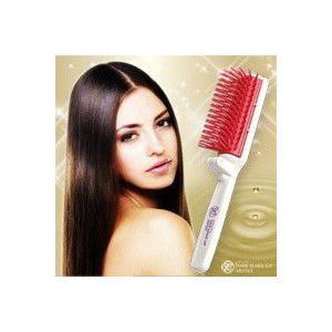 ヘアブラシ 美容師さんの艶髪ブラシ 携帯用|lunabeauty