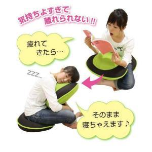 座椅子 骨盤調整 ストレッチ 背筋がGUUUN美姿勢座椅子 ピンク 腰痛 補正|lunabeauty|02