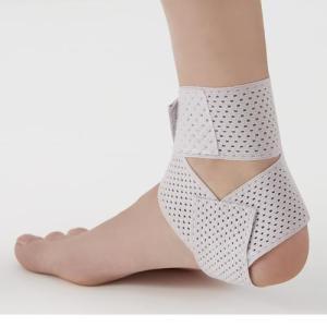 サポーター 足首 速乾 ウォーキング 医学博士の足首テーピングサポーター ラベンダー|lunabeauty