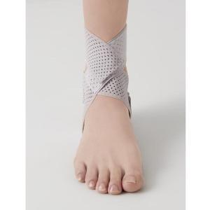 サポーター 足首 速乾 ウォーキング 医学博士の足首テーピングサポーター ラベンダー|lunabeauty|02