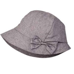 帽子 レディース 夏 UV おでかけ コンパクト 髪型ふんわり小顔UV帽子 グレー|lunabeauty