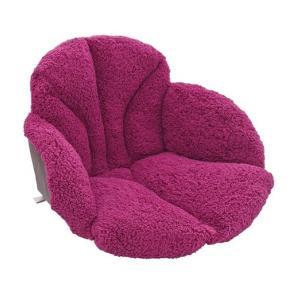 毛布 腰を包む座れる毛布 ワイン 椅子用クッション|lunabeauty
