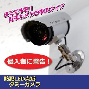 ダミーカメラ 防犯LED点滅ダミーカメラ 監視カメラ ダミー|lunabeauty