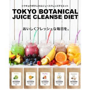 ジュース ダイエット 送料無料 東京ボタニカルジュースクレンズダイエット キウイグリーン ヨーグルトセット|lunabeauty