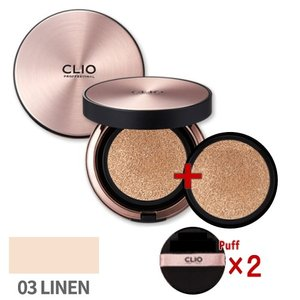 【CLIO】クリオ キルカバーアンプルクッション(SPF50+/PA+++) #3-BY LINEN (15g×2/パフ×2) 限定仕様 ※国内発送|lunadea