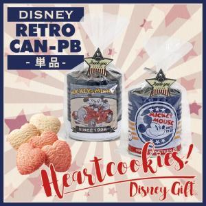【Disney】ディズニーレトロ缶PB ハートクッキー5枚入...
