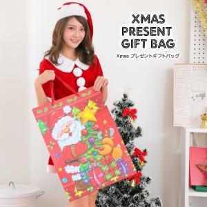 即納可能 Xmas プレゼントギフトバック 大きいサイズのプレゼントペーパーバッグ|lunastyle-official