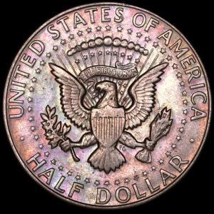 アメリカ 1967年 ケネディー ハーフダラー (50セント)銀貨|lunatrading