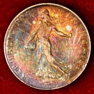 フランス 1904年 50サンチーム銀貨|lunatrading