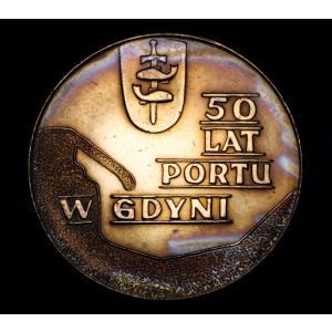 ポーランド 10 Zlotych ズウォティ 硬貨 1972年銘 レインボー lunatrading