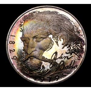 チェコスロバキア 100コルナ プルーフ 銀貨 1979年銘 イヤン・ボット生誕150周年 lunatrading