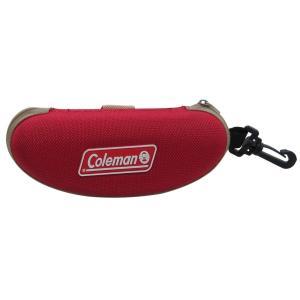 【送料無料】Coleman サングラスケース ベルト/フック  CO07-2(赤)