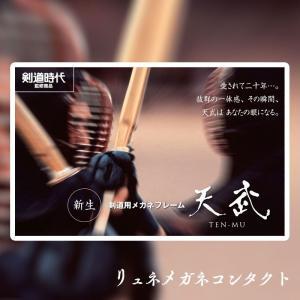 剣道用めがね 天武オプション用 TP-010 単体購入不可 lune-shop