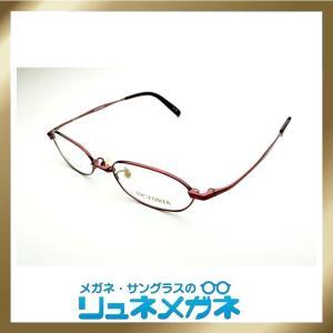 【家メガネ】メタルフレーム  VICTORIA G511-4-col-003 (度入りレンズ+メガネ拭き+布ケース付)