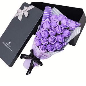 ・【還暦&古稀&喜寿 のギフトに花を添えて♪お祝いのピッタリのブーケ♪】【魔法のお花♪枯れないお花♪...