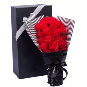・還暦&古稀&喜寿 のギフトに花を添えて♪お祝いのピッタリのブーケ♪】【魔法のお花♪枯れないお花♪人...