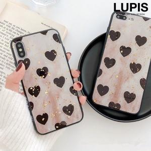 iPhoneケース アイフォンケース レディース iPhoneX iPhoneXS ソフトケース ハート|lupis