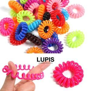 スプリングヘアゴム ヘアアクセサリー レディース 激安 lupis ルピス LUPIS ルピス