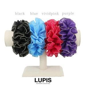 シュシュ レディース カラー ヘアアクセサリー 激安 ルピス LUPIS|lupis|02