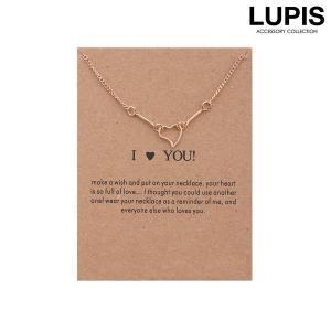 ネックレス ハート シンプル チェーン おしゃれ 可愛い 大人|lupis