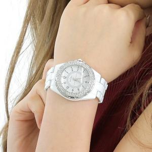 ペアウォッチ 腕時計 レディース メンズ 安い ホワイト アナログ プレゼント lupis 02